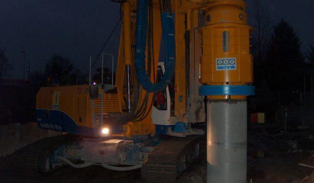 """Automatisches Druckrohr """"Pneumat"""" bei Wendt Grundbau GmbH im Einsatz"""