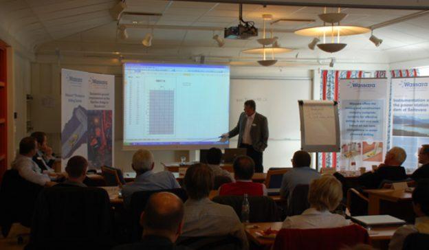Besuch der Händlerschulung für wasserbetriebene Imlochhämmer in Stockholm (16.-17.10.2008)