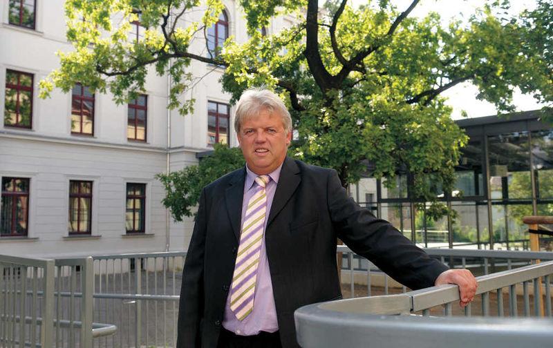 Bürgermeister Dieter Greysinger zu Besuch bei BWH