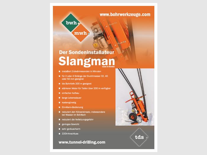 """Unser Produktprogramm durch den """"Slangman"""" erweitert"""