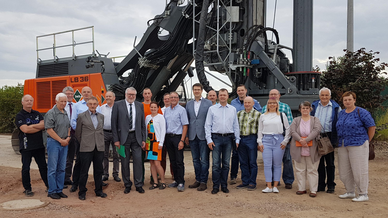 CDU-Kreisvorstandssitzung in neuer BWH-Werkstatthalle