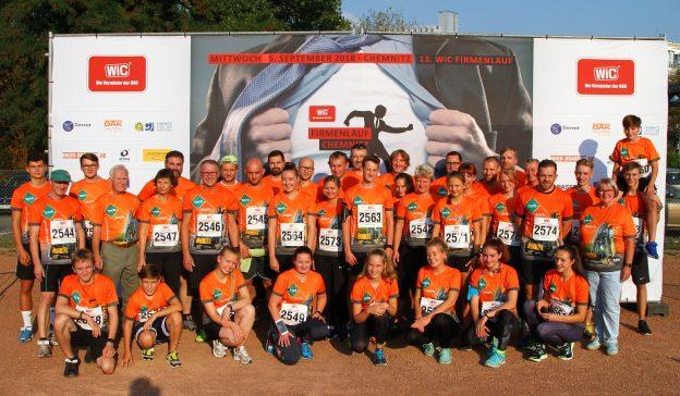Über 9000 Läufer beim Chemnitzer Firmenlauf …