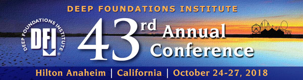We exhibit! - Visit us at booth 314 at the DFI 43rd Annual Conference in Anaheim/California.