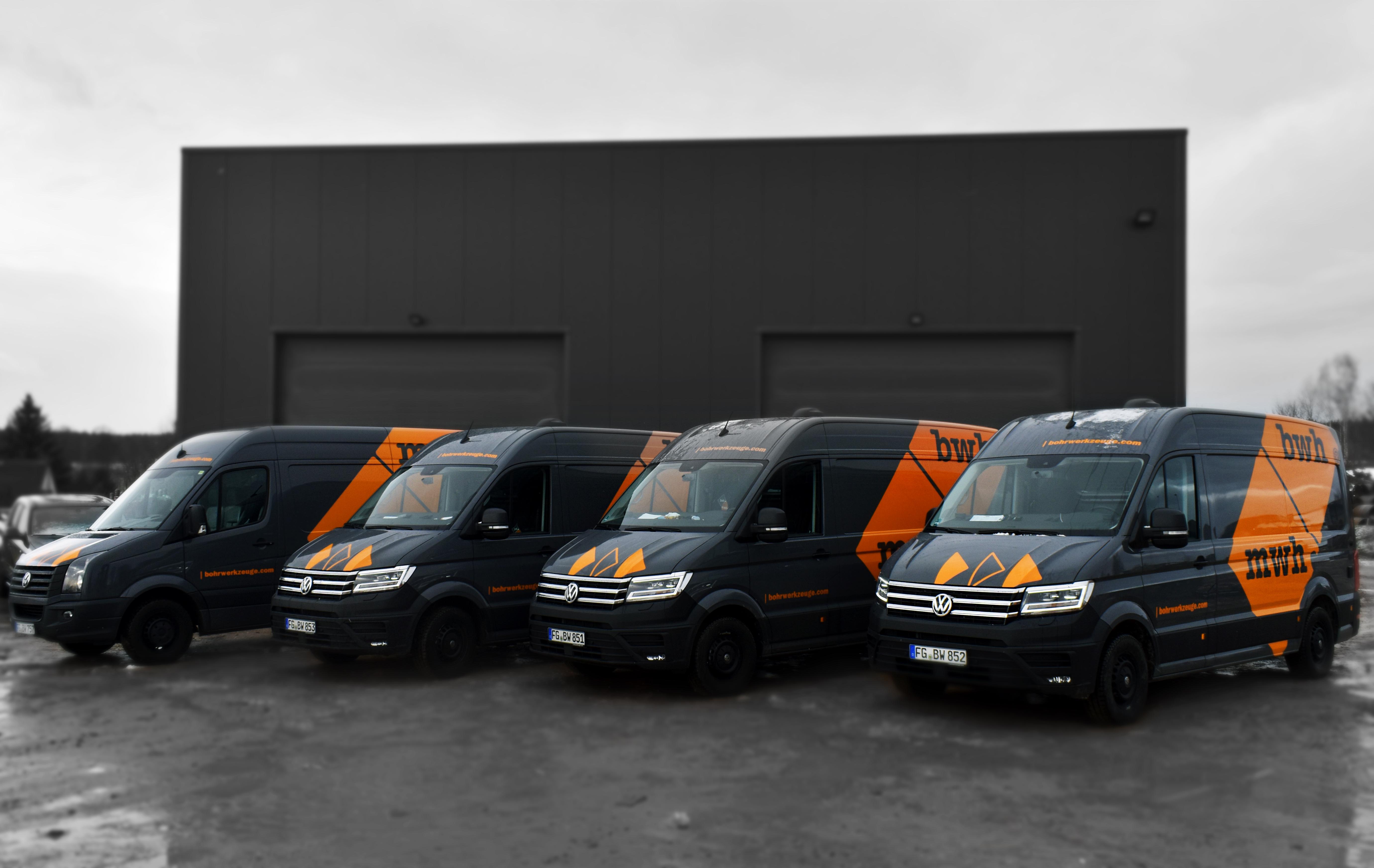 Modernisierung unserer Servicefahrzeuge