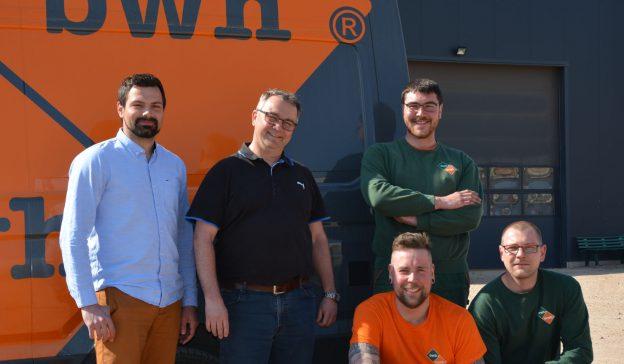 5 neue Kollegen verstärken unser Team