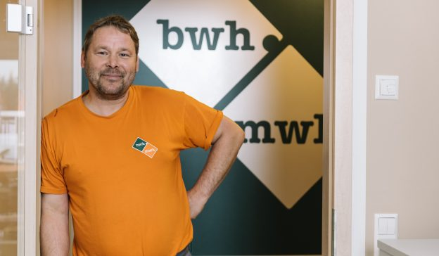Workshop foreman Tino Sass 10 years with BWH