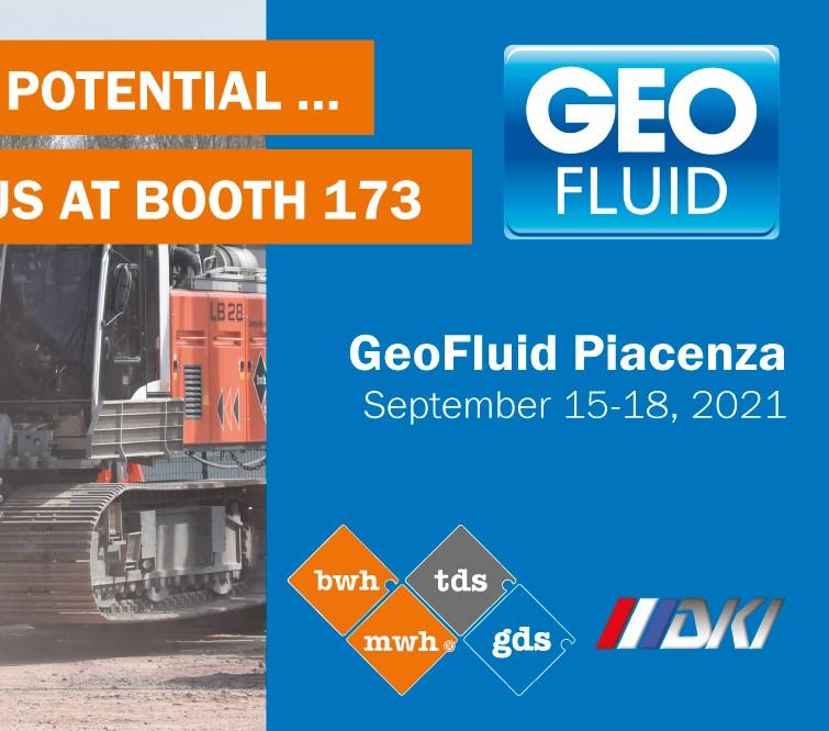 GeoFluid 2021 Piacenza | Besuchen Sie uns am Stand 173